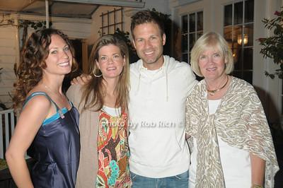 Nicole Morgese, Melissa Lander, Michael Lander, Sharon Ferran photo by Rob Rich © 2009 robwayne1@aol.com 516-676-3939