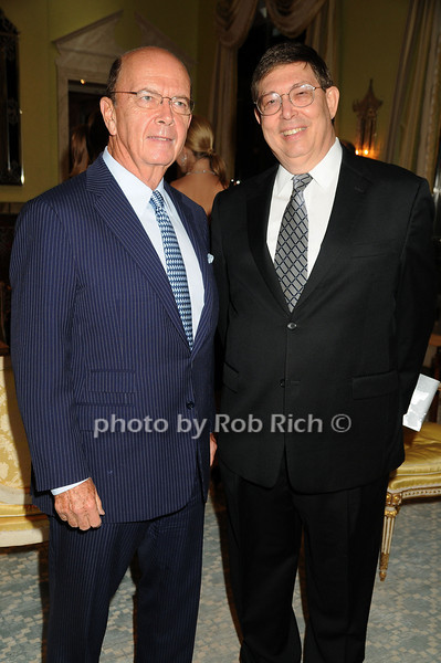 Wilbur Ross, David Lester<br /> photo by Rob Rich © 2008 robwayne1@aol.com 516-676-3939
