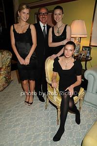 Peter Kairis with models photo by Rob Rich © 2008 robwayne1@aol.com 516-676-3939