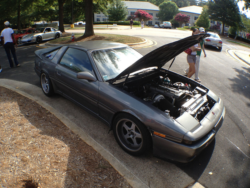 Coffee & Cars @ Waverley Place - Cary, NC - August 2010