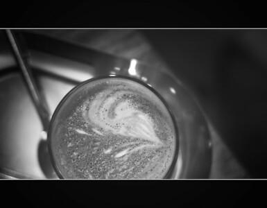 Spotlit coffee