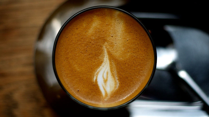 Flame in the coffee