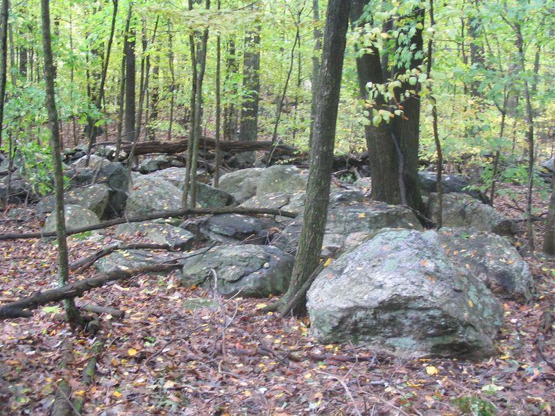Rock Pile Sawyer Hill