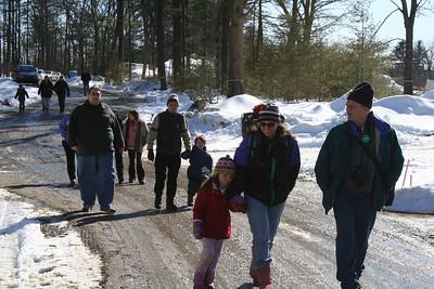 Cohousing March 08 Sitewalk
