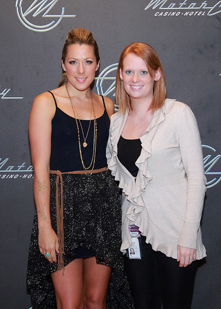 Colbie Caillet @ MotorCity Casino