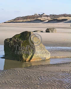 Boulders On The Flats - Christmas Day 2005 - Cold Storage Beach - Dennis,Mass. - Cape Cod