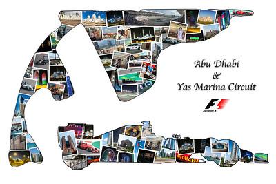 Abu Dhabi GP Holiday Collage