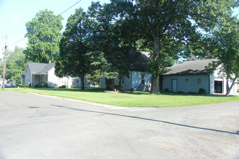 Another view of 210 E. Bryan Street, including Keck's house.