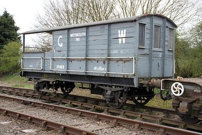 GW 17438 Colne Valley Railway 31/03/12