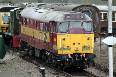 31255 at The Colne Valley Railway   31/03/12