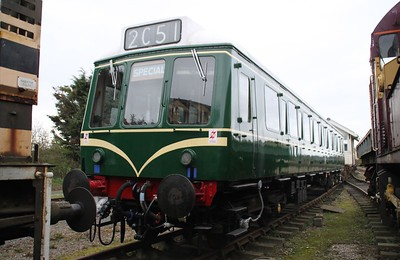 W56287 at The Colne Valley Railway 31/03/12.