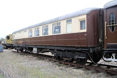 LNER 43571 Colne Valley railway 31/03/12