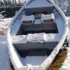 Drift Boat in Winter