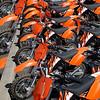Orange Dirt Bikes