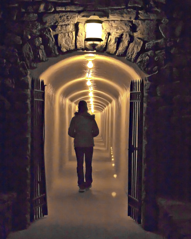 Tunnel Of Light, Furnace Creek Inn
