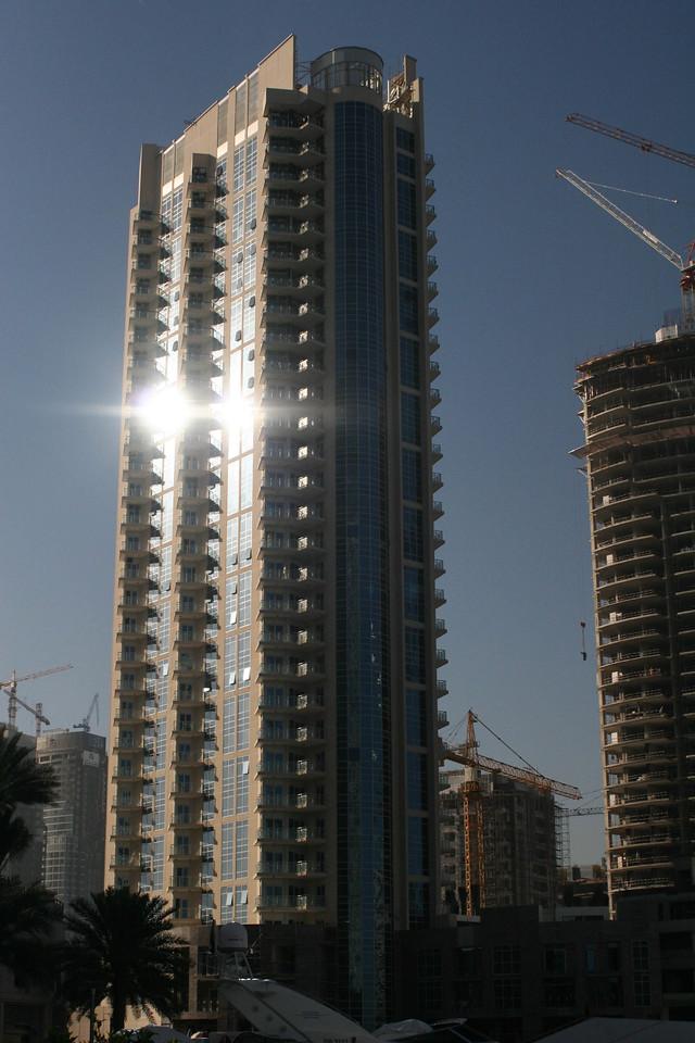 View from Dubai Marina