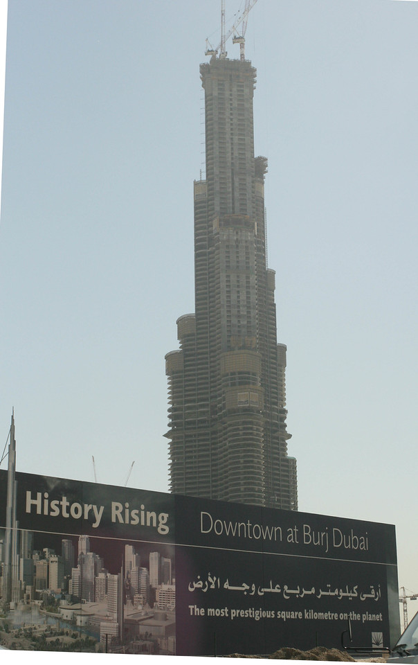 """The """"tallest building in the world""""  Under Construction"""
