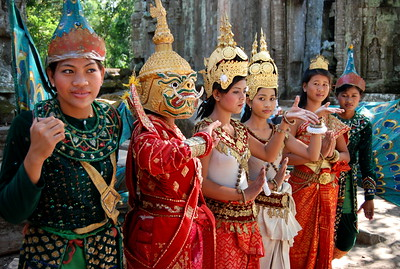 Apsara Dancers at Temple, Cambodia 2007