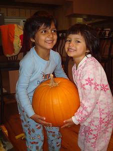 We love pumpkins.