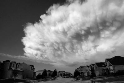 Hail Storm - 10 Aug 09