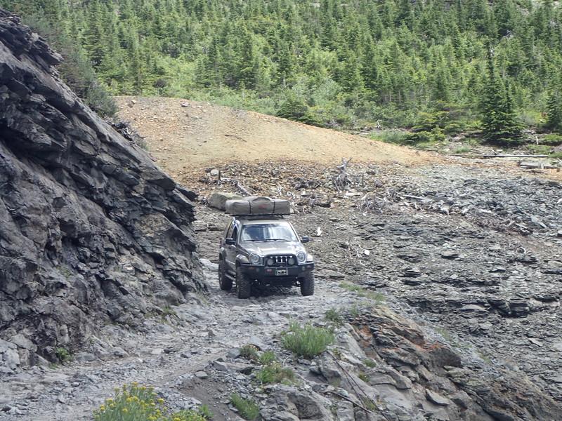 Dion Perilloux solo descent of Black Bear pass