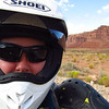 Glasses on, Valley of the Gods.