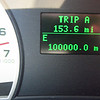 I was driving Mike's Ford Explorer when it turned 100,000 miles.