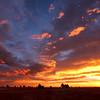 Boulder sunrise
