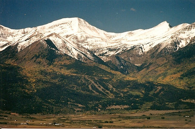 Old Conquistador ski area near Westcliffe CO.