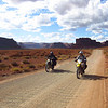 Tim and Fitz in Valley of the Gods.