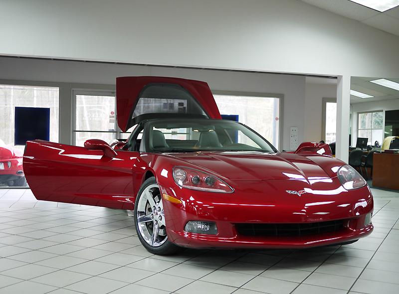 2008-chevrolet-corvette-crystal-red-metallic-front-open-view