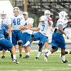 Colts practice at AU on Thursday.