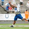Colts practice at AU on Thursday.