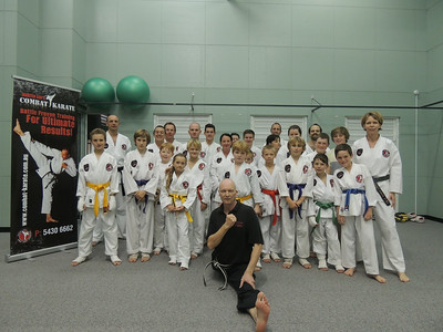 Combat Karate Flexibility Course July 2014