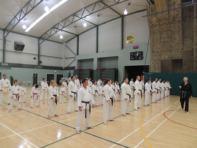Combat Karate Grading and Course July 2013 002