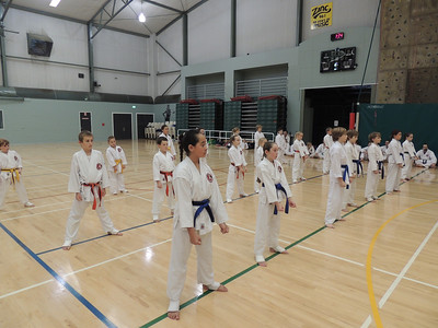 Combat Karate Grading and Course July 2013 014