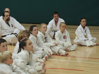 Combat Karate Grading and Course July 2013 011