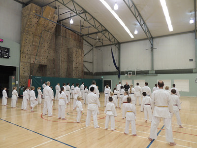 Combat Karate Grading and Course July 2013 001