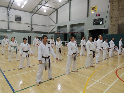 Combat Karate Grading and Course July 2013 025