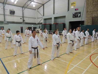 Combat Karate Grading and Course July 2013 026