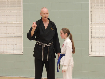 Combat Karate Grading and Course July 2013 010