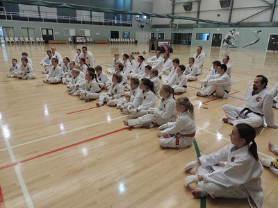 Combat Karate Grading and Course July 2013 008