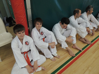 Combat Karate Grading and Course July 2013 017