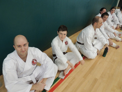 Combat Karate Grading and Course July 2013 019