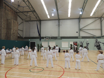Combat Karate Grading and Course July 2013 015