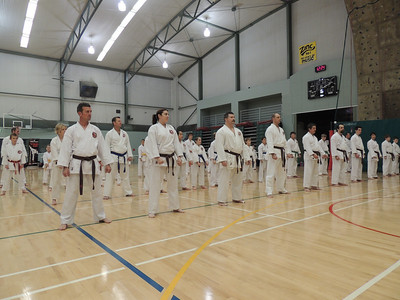 Combat Karate Grading and Course July 2013 003