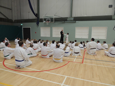 Combat Karate Grading and Course July 2013 005