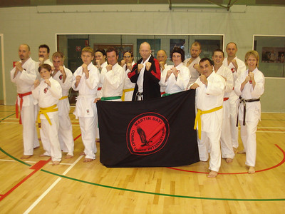 Dedicated Combat Karate Students! Congratulatiosn On Your New Grades!