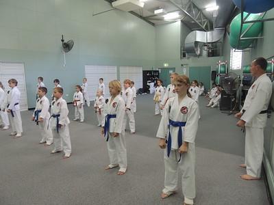 Combat Karate Grade Belt Assessments June 2015
