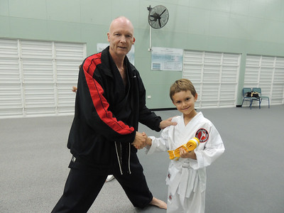 Combat Karate Junior Intermediate Grade Belt Assessment